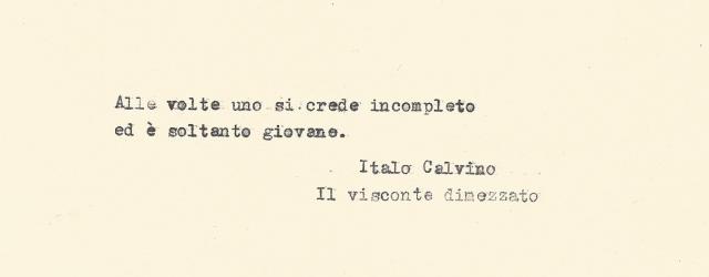 Cit. Italo Calvino e
